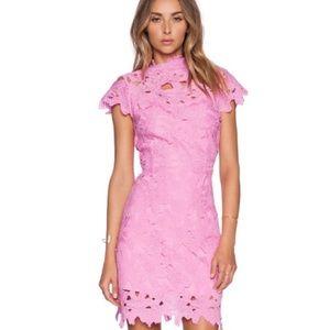 J.O.A Pink Lace Dress
